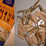 Almond Fish Snack