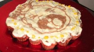 carrot mini cupcake