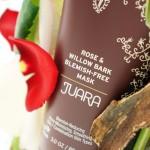 JUARA Rose & Willowbark Blemish-Free Mask, exfoliate & fight blemishes.