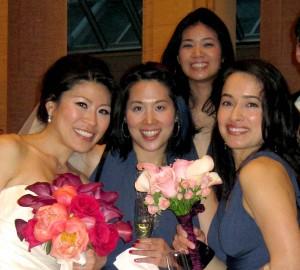 Tami the Bride & Bridesmaids Metta, Jill & Yoshiko